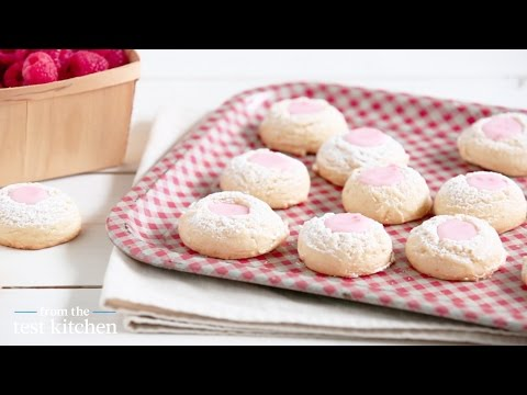 Pink Lemonade Thumbprint Cookies – From the Test Kitchen