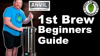 Anvil Foundry All Grain Brewing System   1st Brew   Beginners Guide