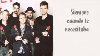 Backstreet Boys Try (traducida al español)