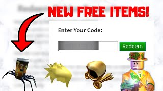 WORKING PROMO CODES THAT GIVE FREE ITEMS IN ROBLOX!!