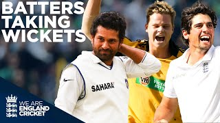 Tendulkar, Cook, Kohli, Smith, Root And More! | Batters Taking Wickets! | England Cricket 2020