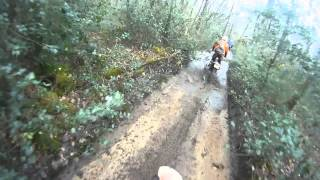preview picture of video 'Off road auvergne 2013'