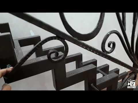 Кованая Лестница в Доме ,нанесение патины.