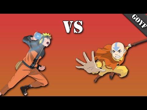Anime Face Off   Episode.1 Naruto vs Aang