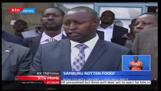 KTN Prime: Relief food purchased by Samburu County rots while still in storage as drought intestifys
