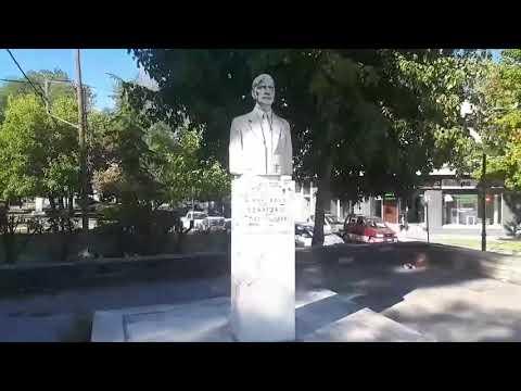 Στο στόχαστρο βανδάλων η προτομή του Αχιλλέα Τζάρτζανου στον Τύρναβο