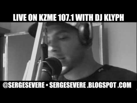 SERGE SEVERE GOES INN!!!! KZME 107.1 FM (part 1)