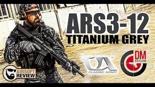 ARS3-12 TITANIUM GREY # CLASSIC ARMY # DM DIFFUSION / AIRSOFT REVIEW