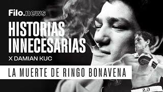 Suscribite a Filo.News: https://www.youtube.com/c/FiloNewsOk?sub_confirmation=1  Ringo Bonavena fue asesinado en 1976 y @Damian Kuc se mete en lo más profundo de la historia para que entendamos qué pasó: ¿Cómo llegó el boxeador argentino al final más trágico que podríamos imaginar?  Información y entretenimiento, en un solo lugar. Actualidad, noticias, espectáculos, deportes, todo al alcance de un clic. Conocé la verdad de todo lo que está pasando. Lo que nadie te cuenta está en #FiloNews  #RingoBonavena #DamianKuc #HistoriasInnecesarias #HistoriasInnecesariasRingooBonavena #AsesinatoBonavena #AsesinatoRingoBonavena #Boxeador #HistoriasInnecesariasFilonews  Seguinos también en: WEB: https://www.filo.news/ FACEBOOK: https://www.facebook.com/filonews TWITTER: https://www.twitter.com/filonewsok INSTAGRAM: https://www.instagram.com/filonewsok