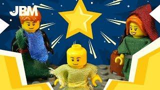 NATIVITY LEGO STORY with SUPERHEROES | LEGO STOPMOTION | DC | MARVEL |