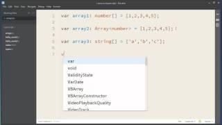 Arrays in TypeScript - TypeScript Tutorial