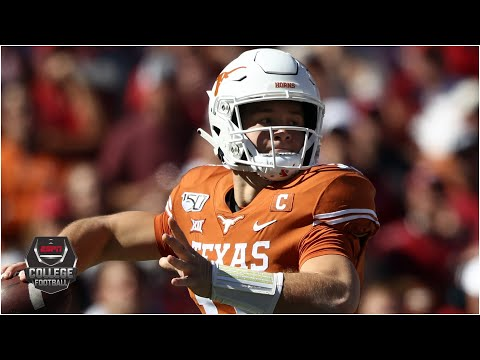 Sam Ehlinger throws for 426 yards and 5 TDs in Texas' opener | 2020 College Football Highlights
