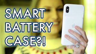 Apple iPhone XS Max Smart Battery Case Unboxing & Review | Tech Tuesday