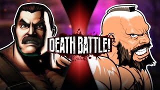 Haggar VS Zangief (Final Fight VS Street Fighter)   DEATH BATTLE!
