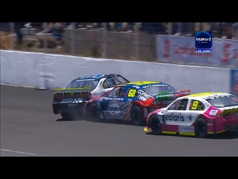 NASCAR Mexico (+ Support Series) 2019. Guadalajara. All Crashes & Fails Compilation