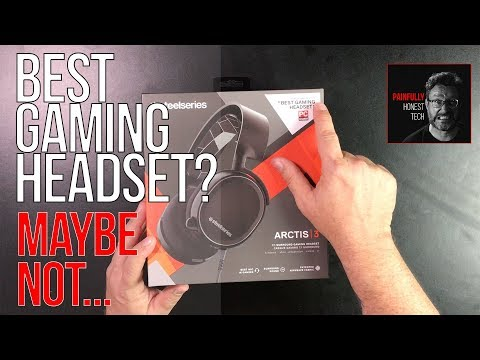Steelseries Arctis 3 Gaming Headset Review and Mic Test