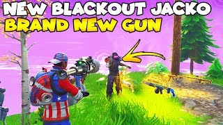 NEW BlackOut Jacko Launcher! 👺👾 (Scammer Gets Scammed) Fortnite Save The World
