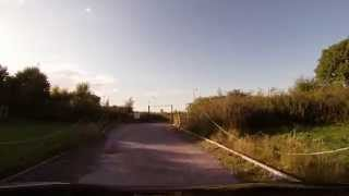 preview picture of video 'Leaving the Gladstone Scout Camp in Hawarden with GoPro'