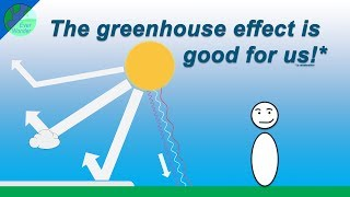 The greenhouse effect is good for us!