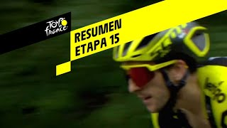 Resumen - Etapa 15 - Tour de France 2019