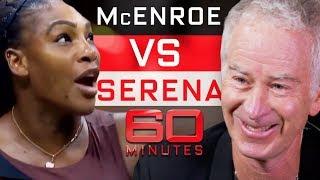 John McEnroe says he can beat Serena Williams   60 Minutes Australia