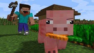 Pig Life   CraftTheHero Minecraft Animation