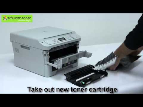 Brother DCP 7055 Toner Cartridge Replacement - user guide ( 7104H )