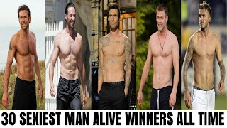 30 Sexiest Man Alive Winners All Time (People Magazine)
