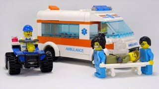 Машина Скорой Помощи. Врач — героическая профессия. Видео для детей.