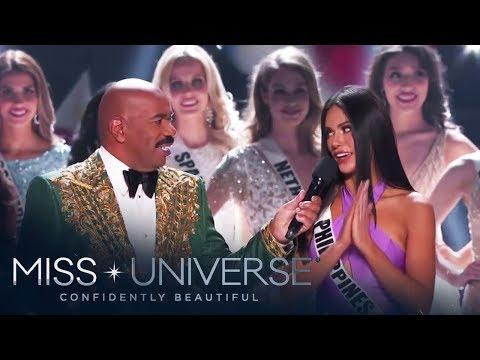 Gazini Ganados enters Top 20 of Miss Universe 2019 | Miss Universe 2019