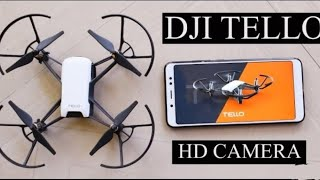 Dji tello 5mp 8D flip + flying test wifi FPV camera drone ||