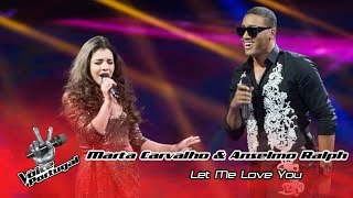 Marta Carvalho e Anselmo Ralph - Let me love you (Mario) | Gala Final | The Voice Portugal