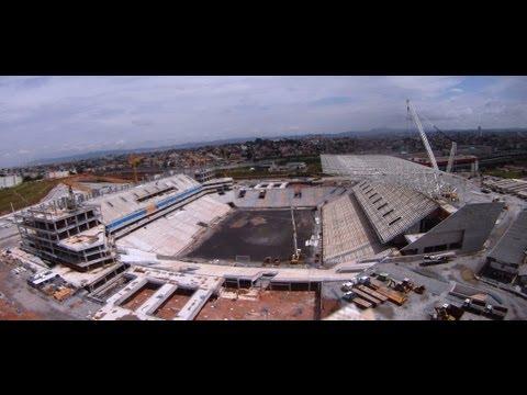 Vôo na Arena do Corinthians 31/12