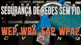 Segurançaderedessemfio:WEP,WPA,EAP,WPA2