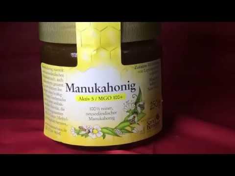 Manuka Honig gegen Erkältungen, grippale Infekte, Schnupfen Husten, Bronchtis und Fieber
