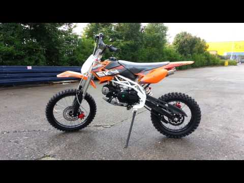 125cc Pit Bike Sky ( Nitro Motors Germany) - 125 Dirt Bike - Video