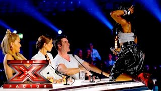 Bupsi Brown gets Cowell'd | Auditions Week 2 |  The X Factor UK 2015