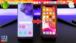 Transfer data Android to iPhone 2020