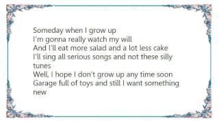 Joey Martin - Someday When I Grow Up Lyrics