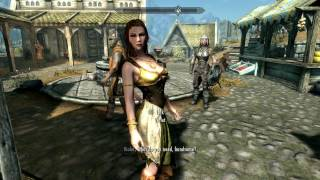 Skyrim Mod of the day: UNP Female armor Refitted