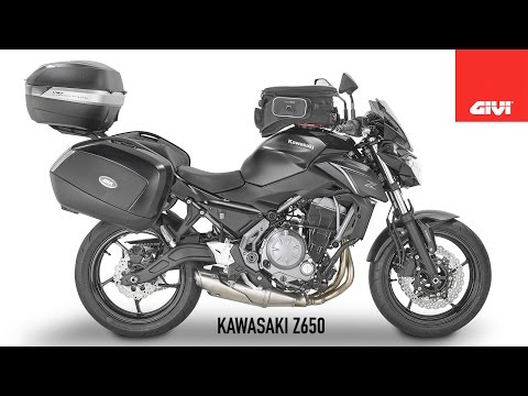 Specific accessories range for Kawasaki Z650