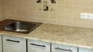 Кухня фото № 16 алюминиевом профиле цвет Белая. от компании Фаберме - видео