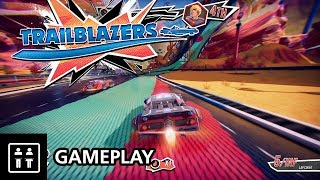 Splatoon Meets F-Zero?! Trailblazers - Gameplay (PS4 Pro)