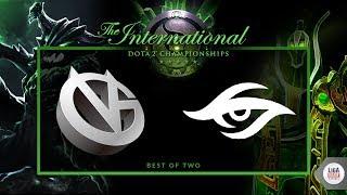 Pain Gaming VS Team Secret (BO2) - The International 2018 Groupstage Day 2