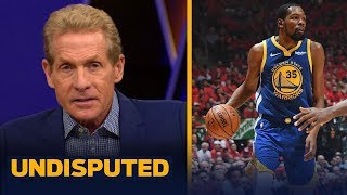 Skip Bayless still believes Kevin Durant will not re-sign with the Warriors   NBA   UNDISPUTED