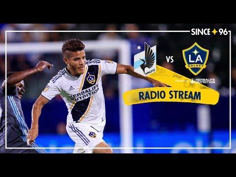LA Galaxy vs Minnesota United | Radio Stream