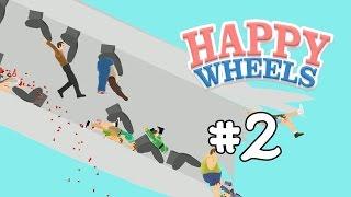 RƠI MÁY BAY | Happy Wheel #2