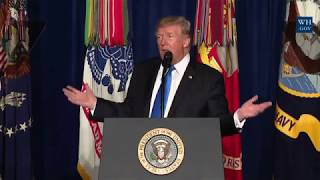 AMAZING OPENING REMARKS: President Donald Trump Gives a Presidential Speech to Address the Nation