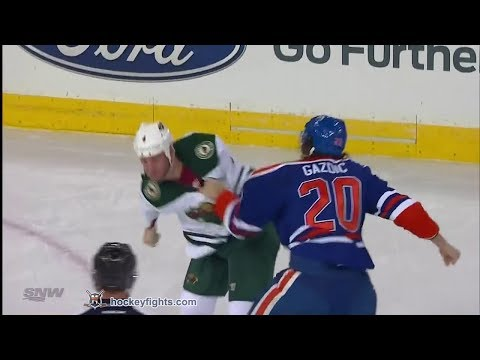 Clayton Stoner vs Luke Gazdic