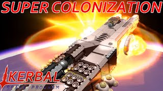 [34.5] Series Solution & Burning The Mothership   Modded KSP : Super Colonization